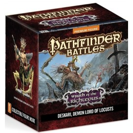 Righteous Demon Lord Deskari Promo Figure Pathfinder