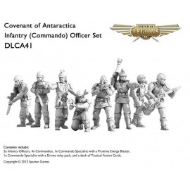 Covenant Of Antarctica Infantry Officer Set