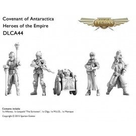 Covenant Of Antarctica Heroes of the Empire Set