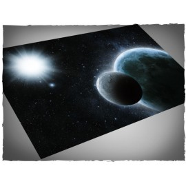 4ft x 6ft, Planets Theme Mousepad Games Mat