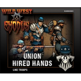 Union Hired Hands Line Troops Box