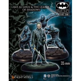 Ras Al Ghul and the League of Shadows