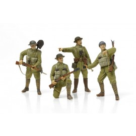 1/35 WWI British Infantry & Equipment [ICM]