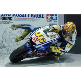 Valentino Rossi Figure (High-Speed Riding)