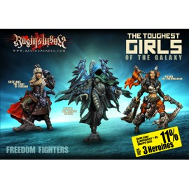 The Freedom Fighters Character Box