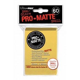 Ultra Pro - Pro Matte Small Yellow DPD Deck Protector