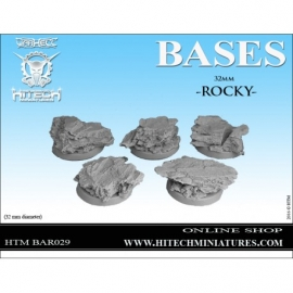 32mm Rocky Bases