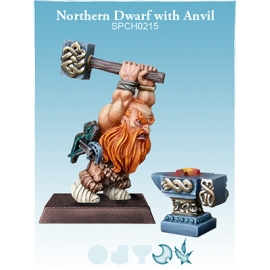 Northern Dwarf with Anvil