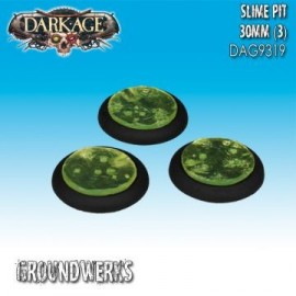 Groundwerks Base Inserts - 30mm Slime Pit