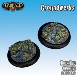 Groundwerks Base Inserts - 40mm Rock Bed