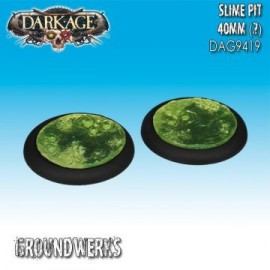 Groundwerks Base Inserts - 40mm Slime Pit