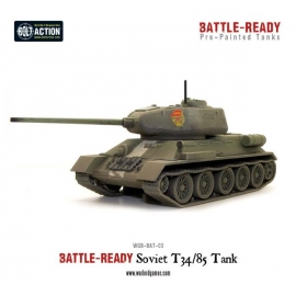 T34/85 Battle Ready Tank - Pre painted