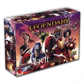 Marvel Legendary: Civil War Expansion