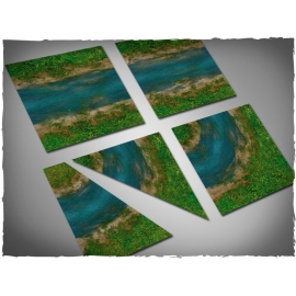 Terrain Tiles Set - Clear River