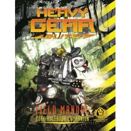 Heavy Gear Blitz! Field Manual (Softcover) FullColour