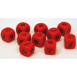Project Z - Red Zombie Dice Pack