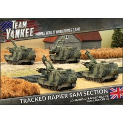 Tracked Rapier SAM Section (x4)