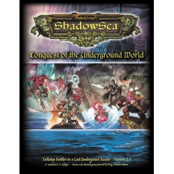 ShadowSea - Conquest of the Underground World v2.5 Deluxe Hardcover Rulebook