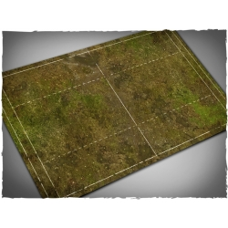 Fantasy Football Field, Muddy Field Theme Mousepad Games Mat