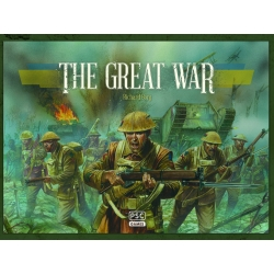 Commands and Colours WW1 Board Game: The Great War