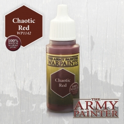 Warpaints : Chaotic Red