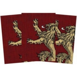 A Game of Thrones LCG Art Sleeves: House Lannister