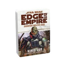 Edge of the Empire Specialization Deck: Hired Gun Signature Abilities
