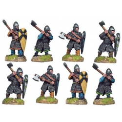 Dismounted Norman Knights with Axes