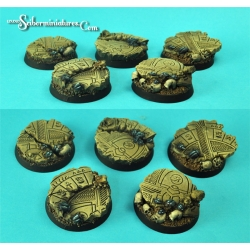 Egyptian Ruins 30 mm Round Bases Set 1