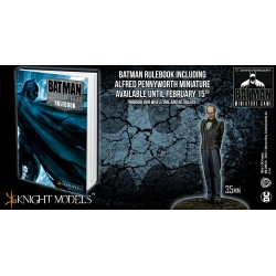 Batman Miniatures Game Hardback Deluxe Rulebook