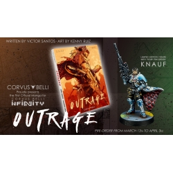Infinity: Outrage Limited Edition with Knauf, Infinity Manga Exclusive Model English