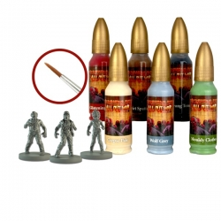 The Walking Dead Walker Paint Set