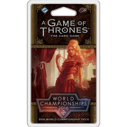 A Game of Thrones 2nd Edition: 2016 World Championship Joust Deck