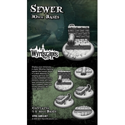 Sewer 30mm Bases