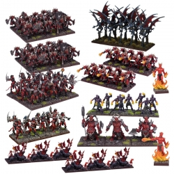 Forces of the Abyss Mega Army