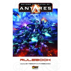 Beyond The Gates Of Antares Rulebook - English
