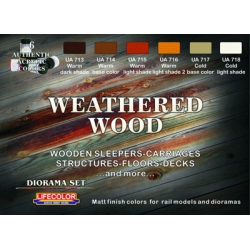 Weathered Wood Set