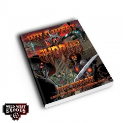 Wild West Exodus Hardcover Core Rulebook - 1st Edition