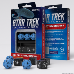 Star Trek Adventures - Sciences Blue Custom Dice
