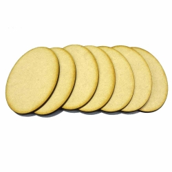 105mm x 70mm Oval Bases (7)