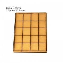 25mm x 25mm Bases