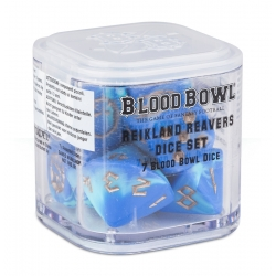 Blood Bowl Reikland Reavers Dice Set