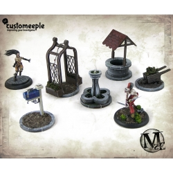 Malifaux Dollhouse Objective Markers