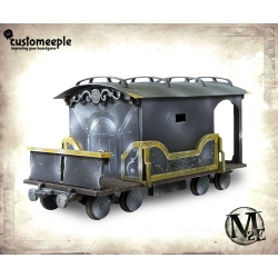 Malifaux Train wagon (Armoured)
