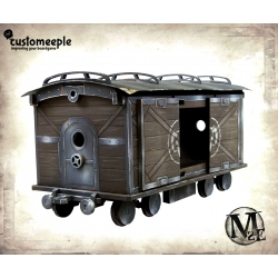 Malifaux Train wagon (Cargo)
