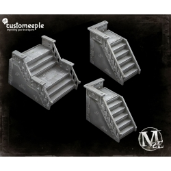 Malifaux Streets Stairs (3 Units)
