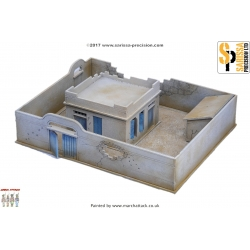 20mm Destroyed Compound & House