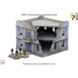 20mm North African Colonial Admin Building/Hotel Destroyed