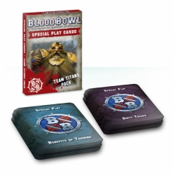 Blood Bowl Cards: Team Titans Pack - French