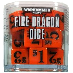 Warhammer 40000: Fire Dragon Dice
